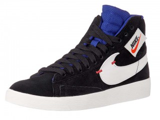 Nike Women's Blazer Mid Rebel High-Top Suede Sneaker